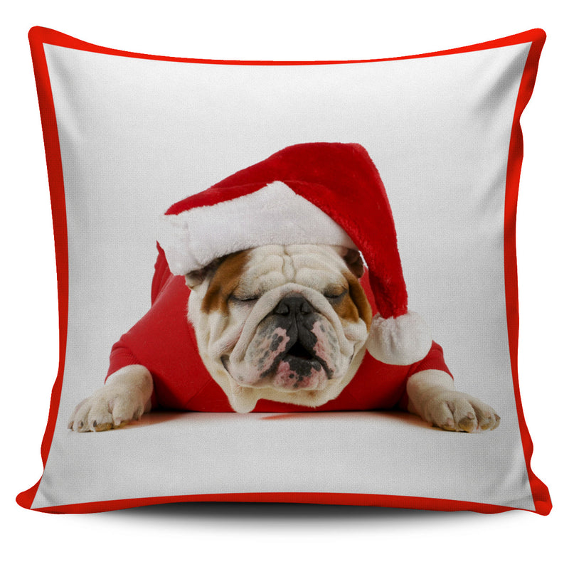 Santa Dogs pillow Cover collectibles