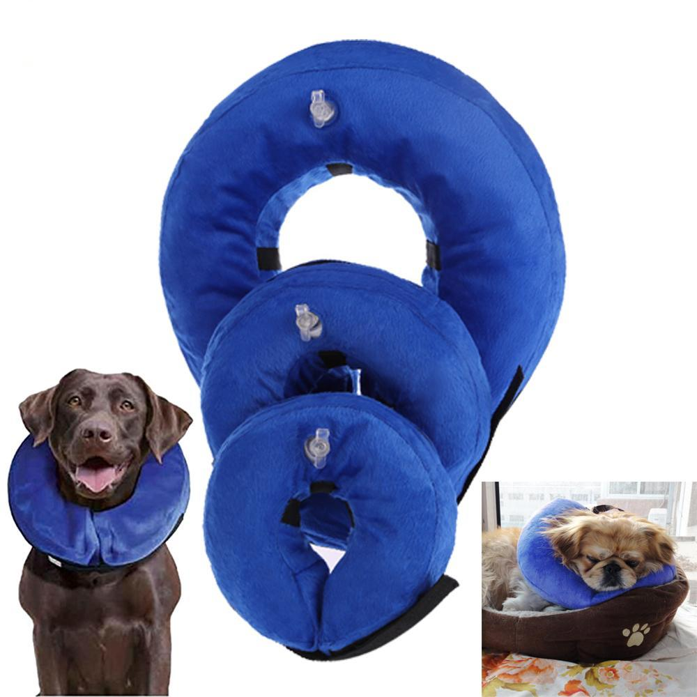 Pet Anti-bite and Inflatable Recovery Neck Comfortable Collar