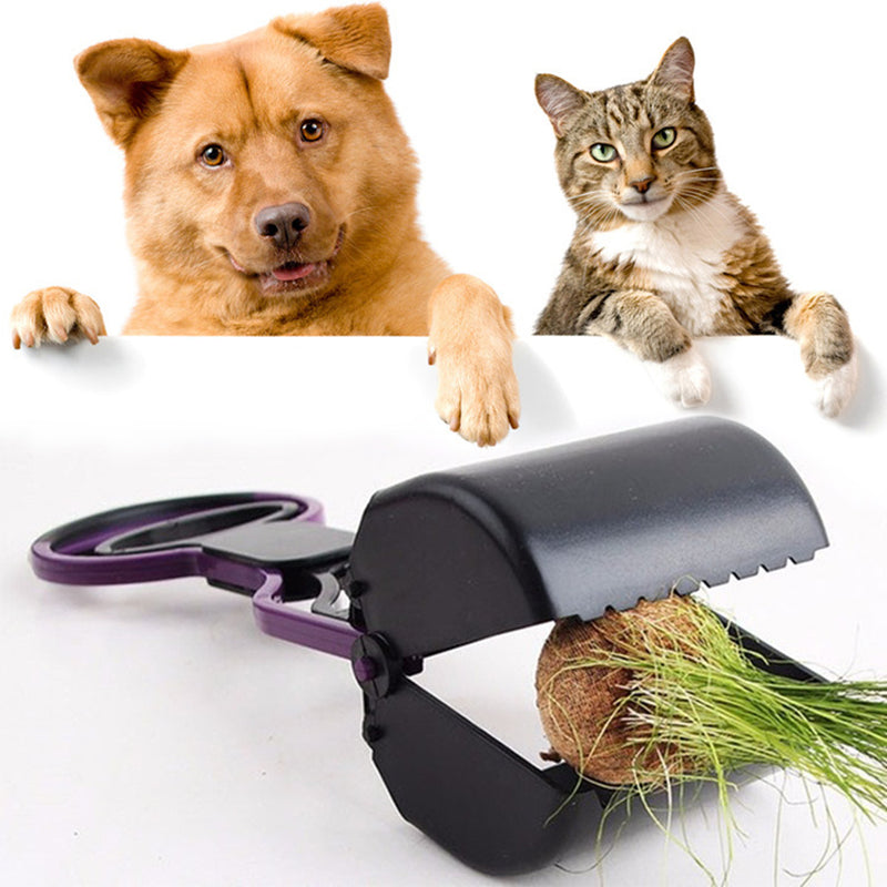 Pet Long Handle Jaw Pooper/Scooper
