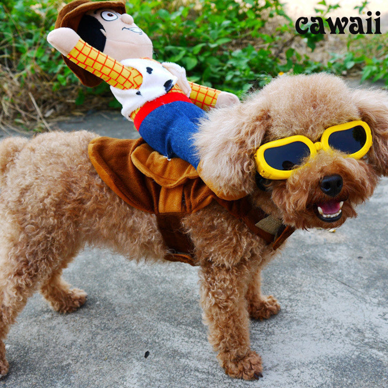 Funny Cowboy Woody Pet Costume
