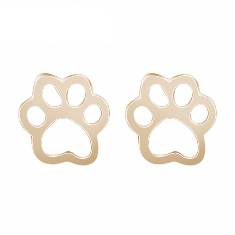 Cute Cat Paw Print Stud Earrings - JUST PAY SHIPPING AND HANDLING