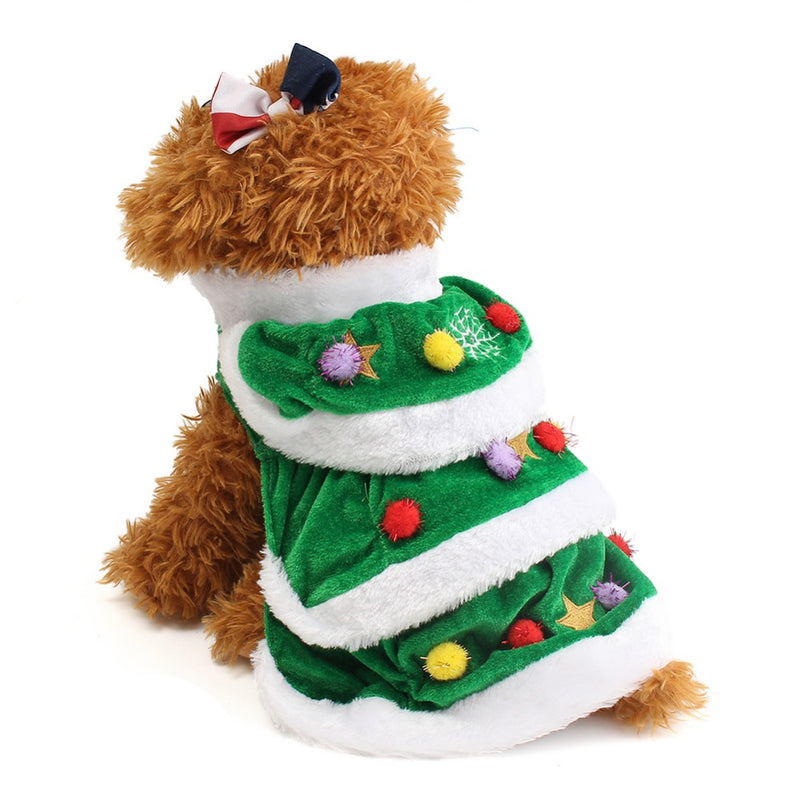 Christmas Tree Costume for Pets