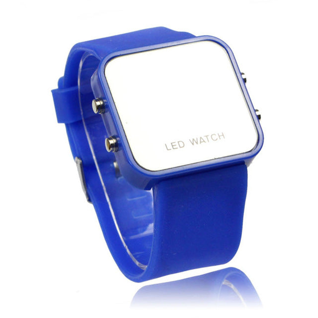 Mini LED Digital Couple Watch for Lovers