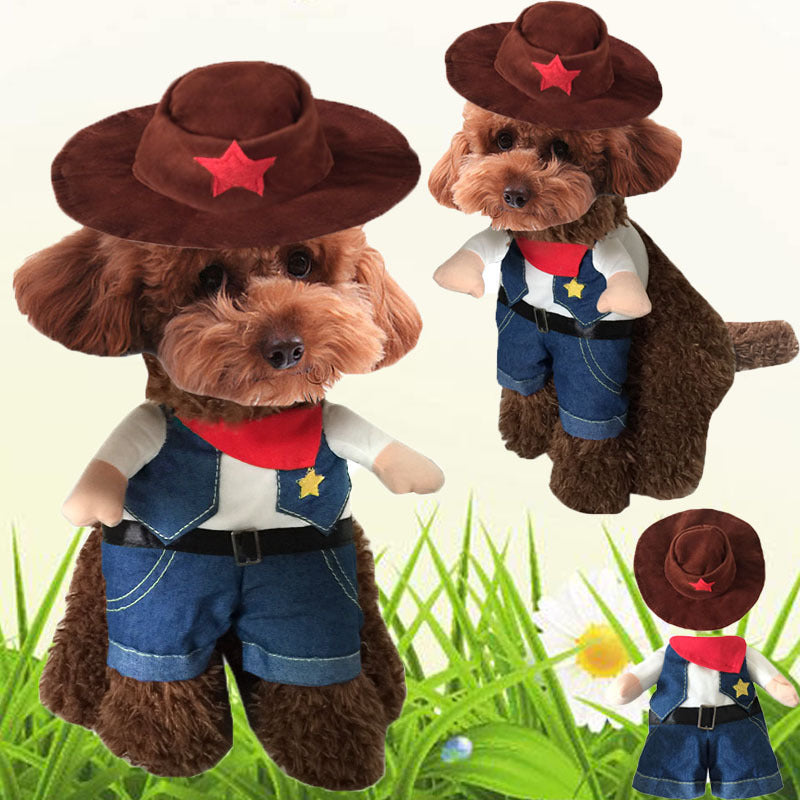 Funny Cowboy Clothes/Custome for Pets