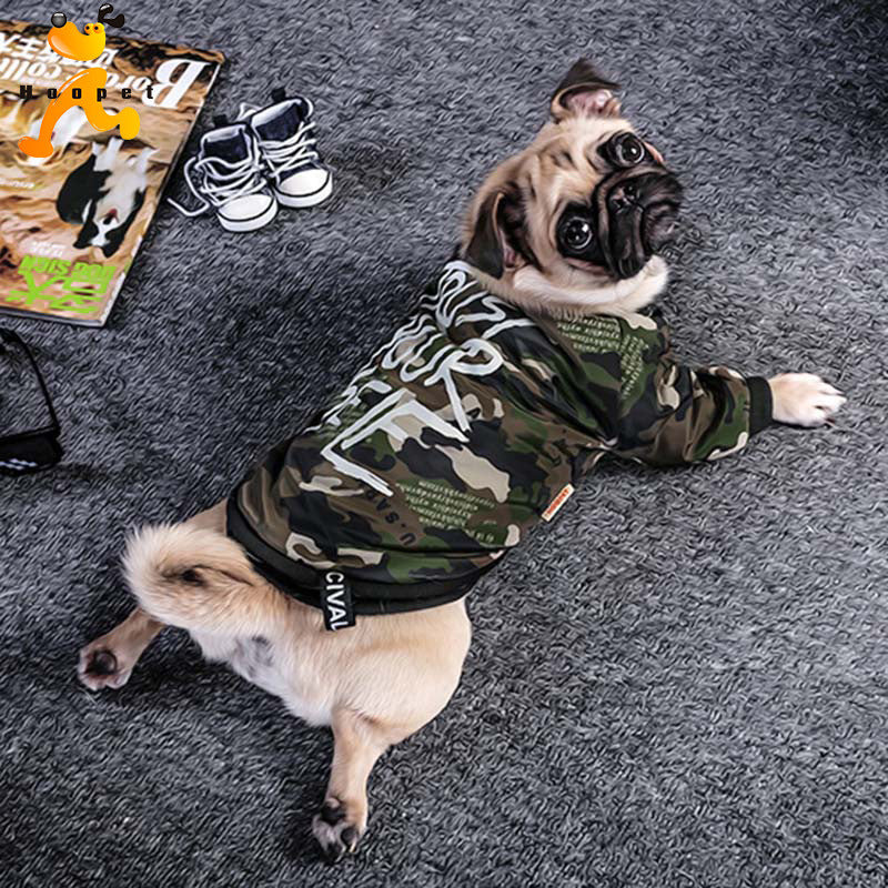 Camouflage Winter Jacket for Dogs