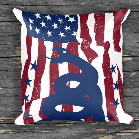 DTOM US Flag - Pillow - Gear Assist