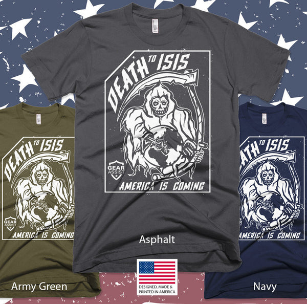 Death To ISIS - T-Shirt - Gear Assist