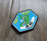 The Snake - Don't Tread On Me PVC Morale Patch - Gear Assist