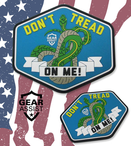 The Snake - Don't Tread On Me PVC Morale Patch