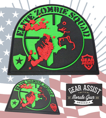 PVC Patch Design by Gear Assist | Elite Zombie Squad by Gear Assist