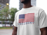 Freedom US Flag | Gear Assist Patriotic Tee - Gear Assist
