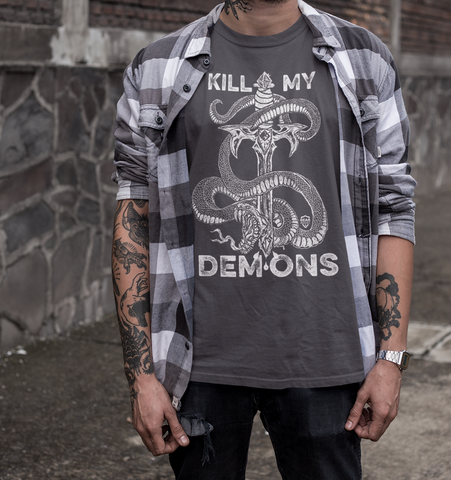 Kill My Demons | Dagger Tee