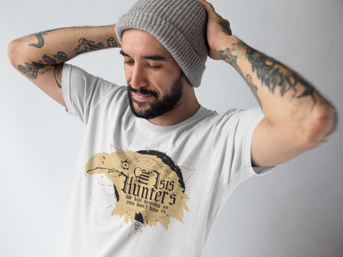 Eagle LEO and police ISIS hunters tee shirt apparel deisgn