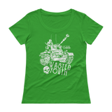 Wasted Youth | Women's Scoopneck T-Shirt - Gear Assist