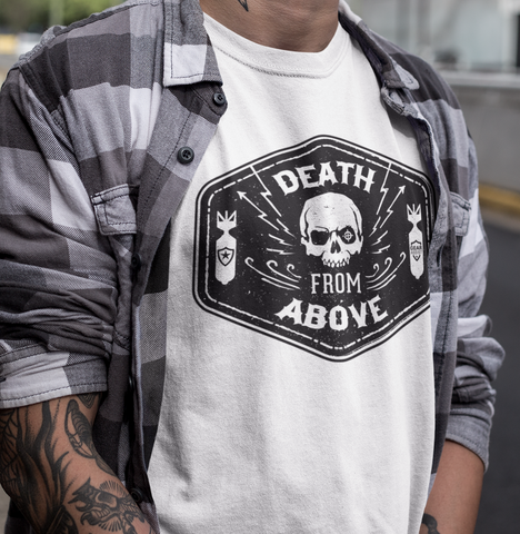 Death From Above - Tee - Gear Assist