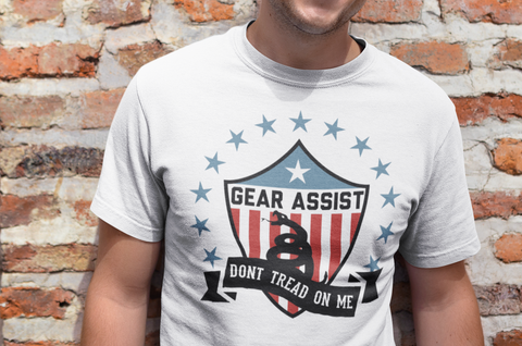 Dont Tread On Me Shield - Tee - Gear Assist