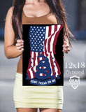 Don't Tread On Me U.S. Flag - Poster - Gear Assist