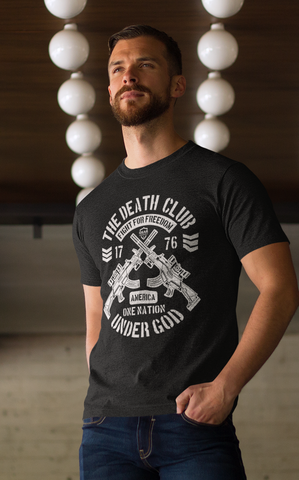 The Death Club guns shirt