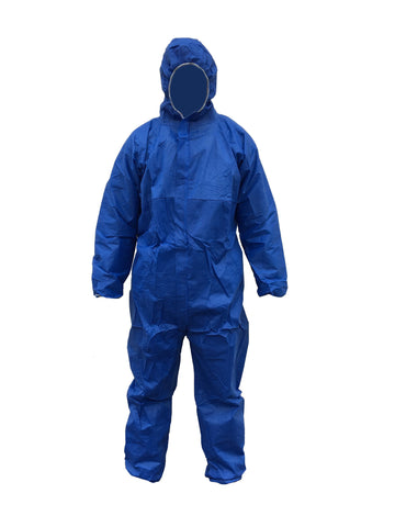 Type 5/6 Disposable Coverall - Blue - Charlton Environmental Ltd