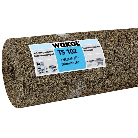WAKOL WAKOL TS102 FOOTFALL SOUNDPROOFING MAT 2MM 30m ROLL - KHR Company Ltd