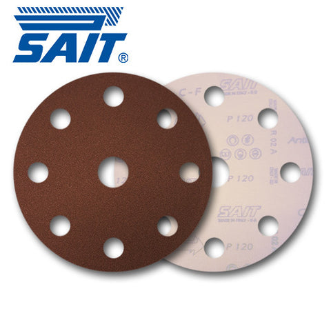 SAIT 125mm 8 + 1 Hole Discs - KHR Company Ltd