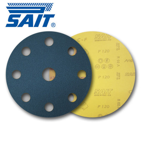SAIT 150mm 8 + 1 Hole Discs - KHR Company Ltd