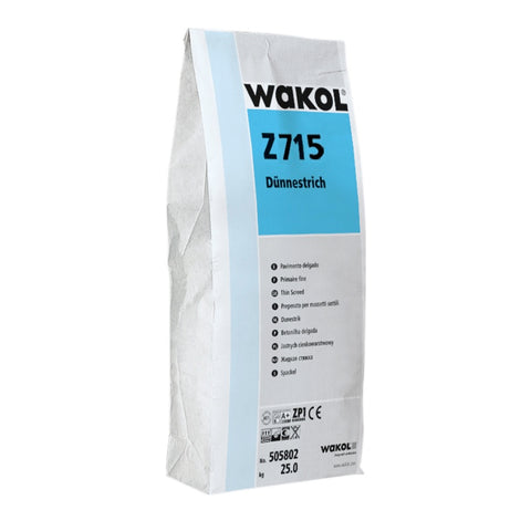 WAKOL WAKOL Z715 QUICK SETTING LEVELLING COMPOUND 25kg - KHR Company Ltd