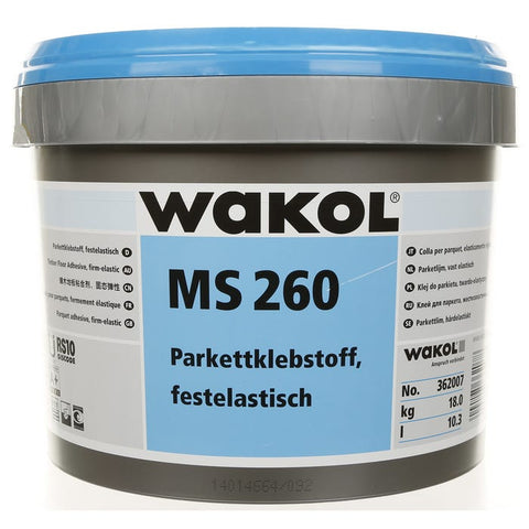 WAKOL WAKOL MS 260 PARQUET ADHESIVE: HIGH TENSILE STRENGTH 18kg - KHR Company Ltd