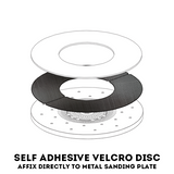 LAGLER SINGLE Self Adhesive Velcro Ring - KHR Company Ltd