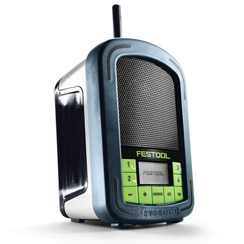 FESTOOL SYSROCK BR 10 Construction Site Radio - KHR Company Ltd
