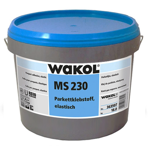 WAKOL WAKOL MS 230 PARQUET ADHESIVE SPECIFICALLY FOR ENGINEERED PARQUET 18kg - KHR Company Ltd