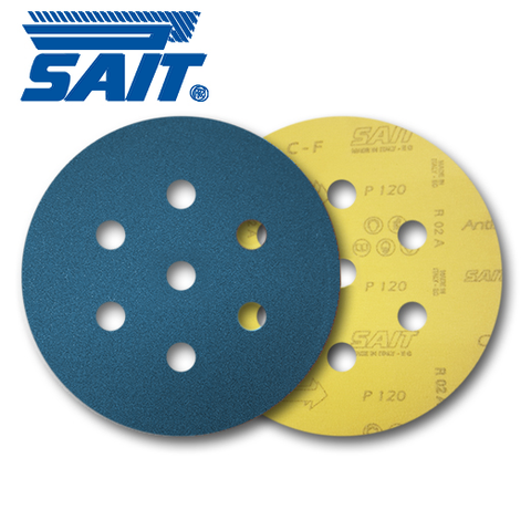 SAIT 90mm 7 Hole Zirc Discs - KHR Company Ltd