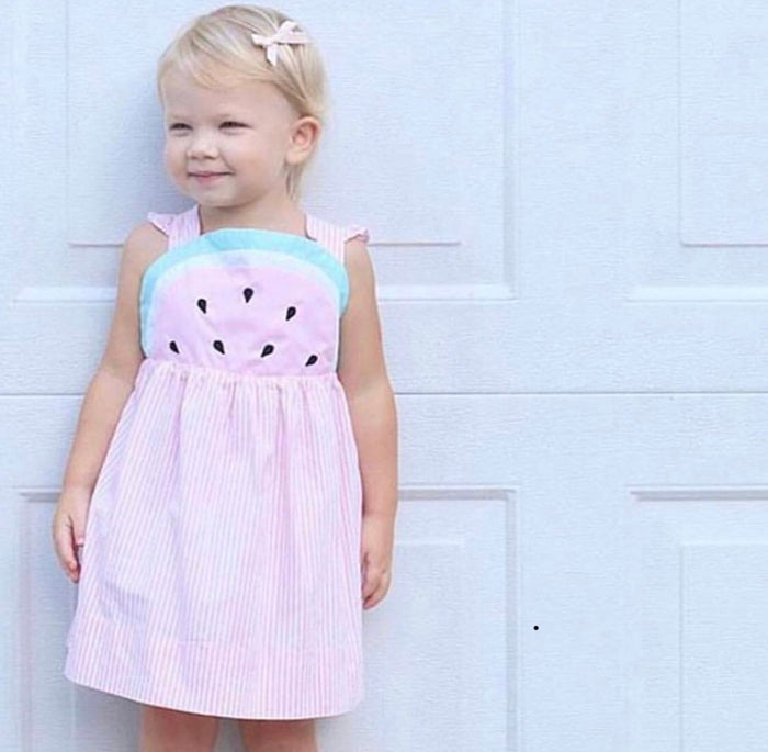 Katherine Watermelon Dress