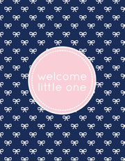 """welcome little one"" Greeting Card - $1.50 Each (GC45AP1078)"