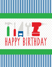 """Happy Birthday"" Greeting Card - $1.50 Each (GC45AP1097)"