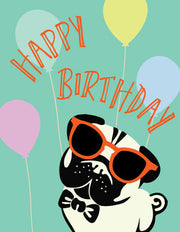 """Happy Birthday"" Greeting Card - $1.50 Each (GC45AP2033)"