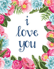 """I Love You"" Greeting Card - $1.50 Each (GC45AP2056)"