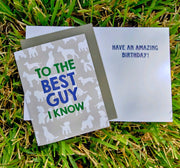 "NEW!  ** ""To The Best Guy I Know""  - $1.90 Each (GC45AP5029)"