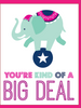 """You're Kind of a Big Deal"" - Greeting Card - $1.70 Each (GC45AP4003)"