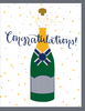 """Congratulations"" - Greeting Card with COLORED ENVELOPE - $1.70 Each (GC45AP062C)"