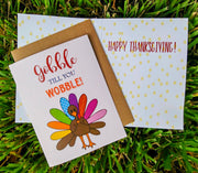 "NEW!  ** ""Gobble Till You Wobble""  - $1.90 Each (GC45AP5015)"