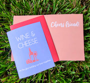 "NEW!  ** ""Wine & Cheese are the Glue...""  - $1.90 Each (GC45AP5020)"
