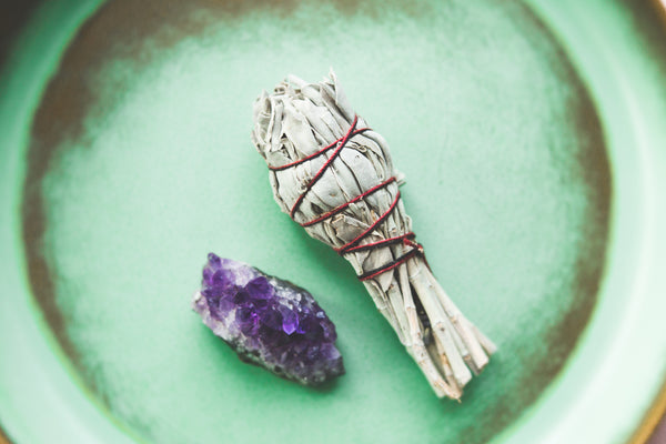 BUFFALO WHITE SAGE - Mini Wand