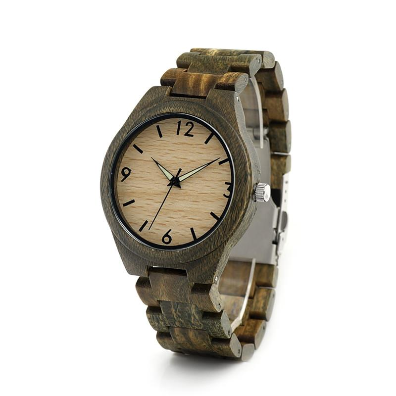 Verawood Watch - Tan Dial - Timber Watch Co.