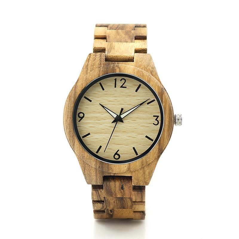 Sandalwood Watch - Tan Dial - Timber Watch Co.