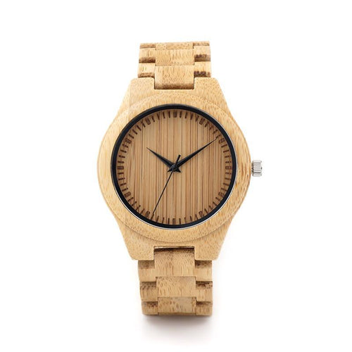 Bamboo Watch - Bamboo Dial - Timber Watch Co.