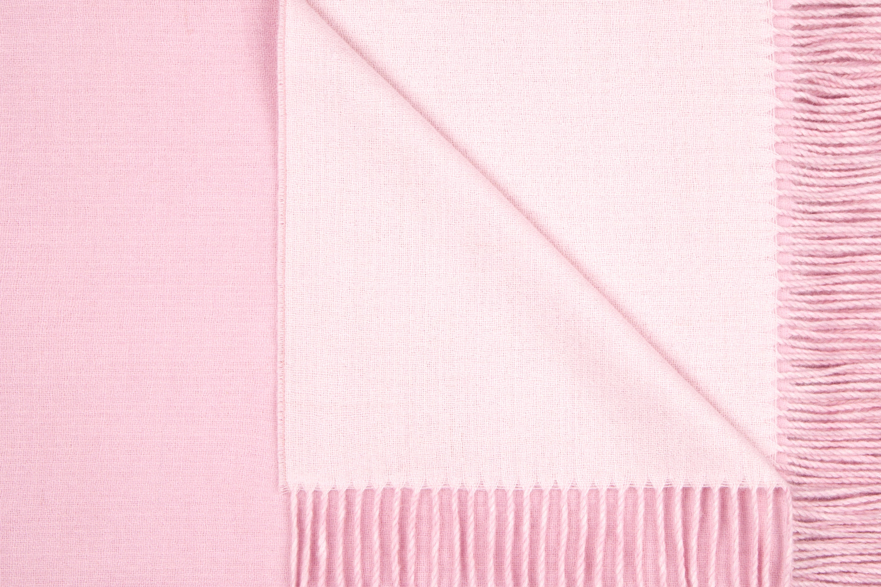 reversible pink and baby pink luxury Alpaca throw