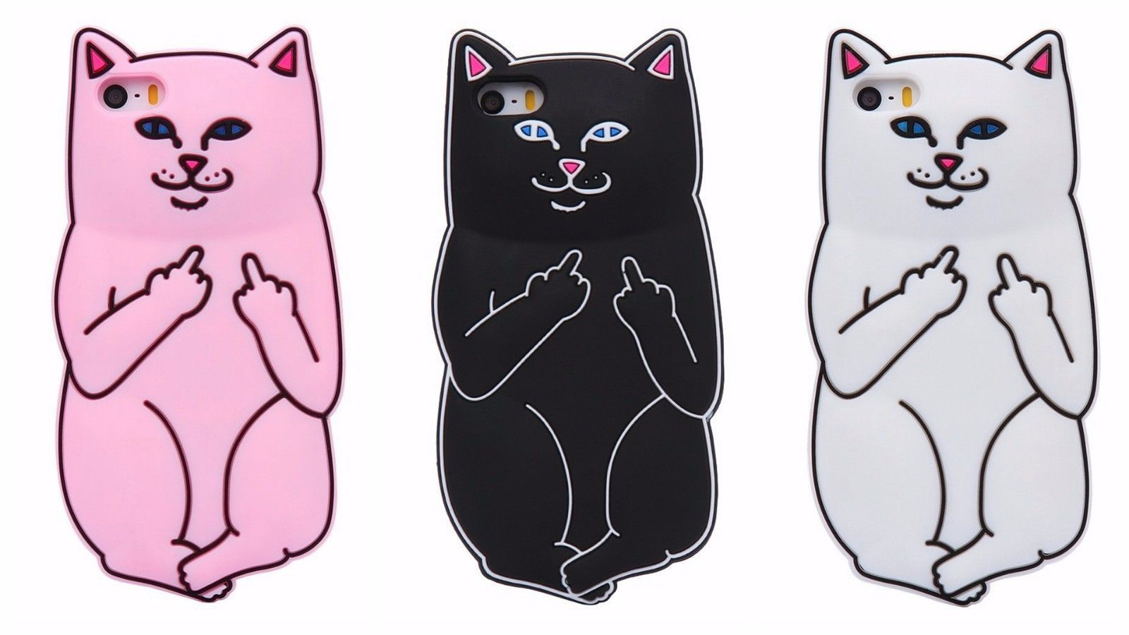 Ripndip Cat Silicone Case For Iphone 8 8 Plus 10 X Its Meow Or Never