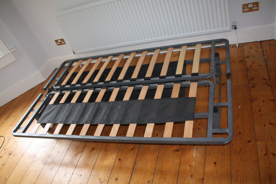 Metal Futon Sofa Bed With Mattress