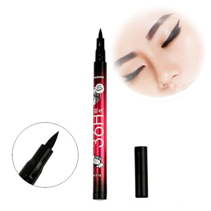 2Pcs High Quality Black Eyeliner Waterproof Liquid Make Up Beauty Comestics Eye Liner Pencil